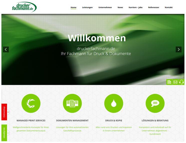 druckerfachmann.de im neuen Design
