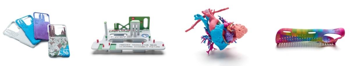 Produzieren Sie brilliante, vollfarbige Funktionsteile mit der HP Jet Fusion 3D Color Serie