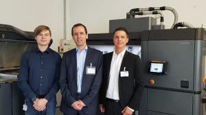 Das 3D Team Tobias Troegner, Jan Michalke und Dominik Heinz