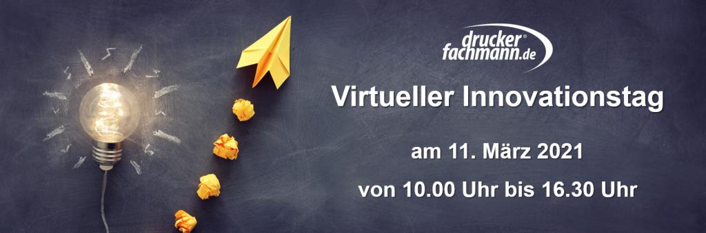 Virtueller Innovationstag bei druckerfachmann.de