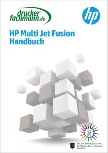 Ansicht des Handbuches für HP Multi Jet Fusion plus Bonusmaterial zum Postprocessing